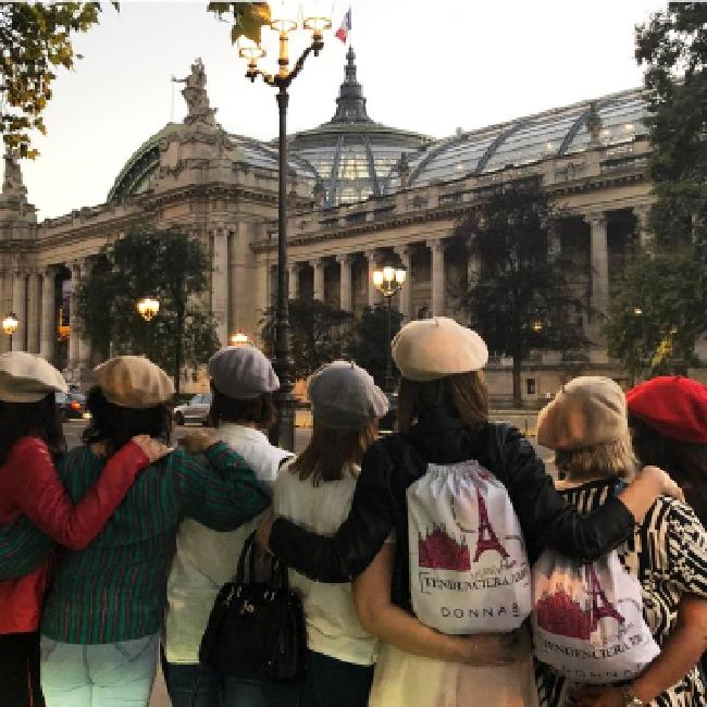 París y Roma · viaje de moda
